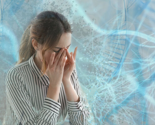 Woman Stressed with The Price of Surgery - Healthcare Financial Anxiety